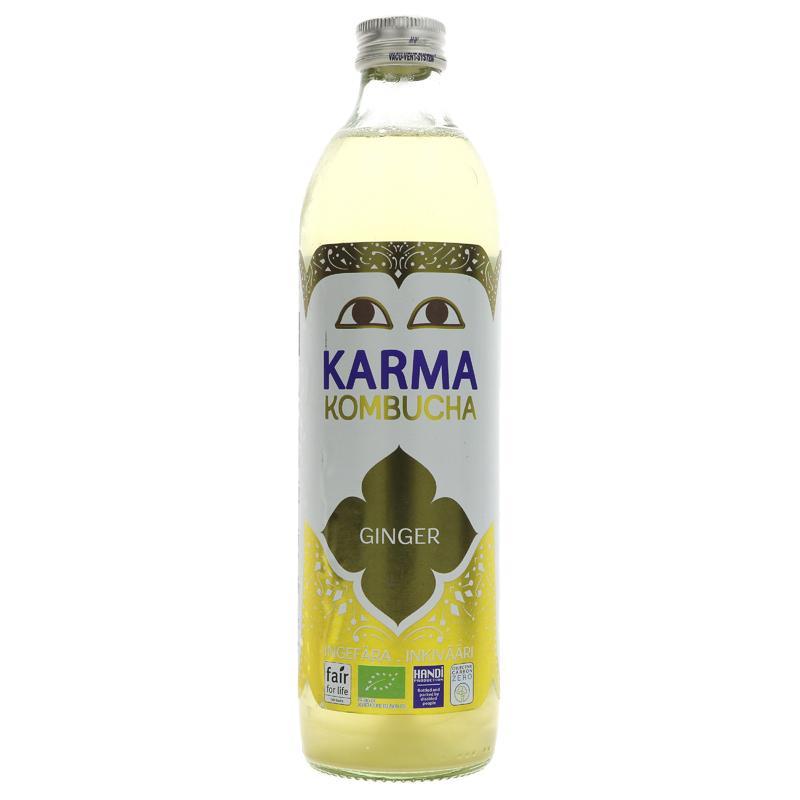 Karma Kombucha Ingefær 500ml
