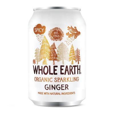 Whole Earth Ingefærbrus 330 ml Øko