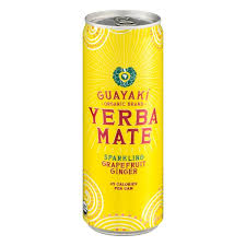Yerba Mate Grapefruit Ginger [m/kullsyre] 355ml