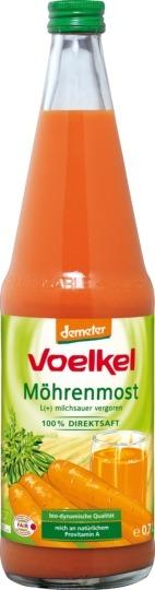 Voelkel Gulrotjuice. 0.7 l melkesyregjæret