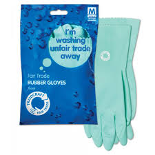 Traidcraft Fair Trade Rubber Gloves Medium