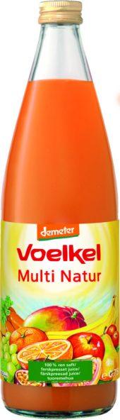 Voelkel Multi Natur Juice. demeter. økologisk 0.7L