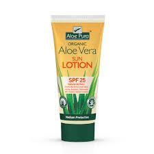 Aloe Pura Solkrem SPF 25. øko. 200ml