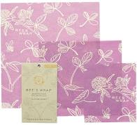 Bees Wrap Multipack 3 ark Mimis Purple
