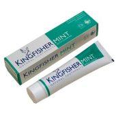 Kingfisher Tannpasta Mint m/fluor - Lysegrønn