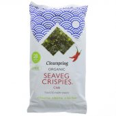 Clearspring Seaveg Crispies Multipack Chilli, 3x5g