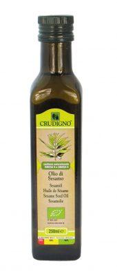 Sesamolje, kaldpresset, 250 ml, økologisk, Crudigno