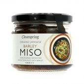 Clearspring Miso Barley 300 gr glass øko