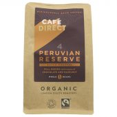 Cafedirect Peruvian Reserve hele bønner, øko, 227g