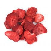 Øko Jordbær Frysetørket