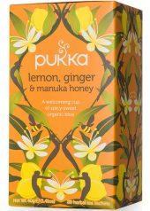 Pukka Lemon, ginger and manuka