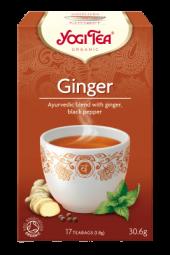 Yogi Ginger/ingefær 17 poser