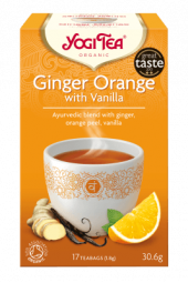 Yogi Ginger Orange with Vanilla