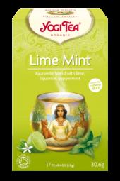 Lime mint te, 17 poser, økologisk, Yogi Tea