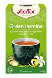Green jasmine te, 17 poser, økologisk, Yogi Tea