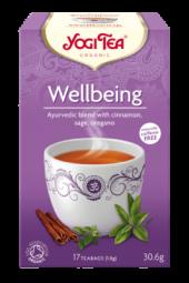 Wellbeing te, 17 poser, økologisk, Yogi Tea