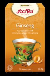 Ginseng te, 17 poser, økologisk, Yogi