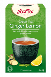 Green ginger lemon te, 17 poser, Yogi