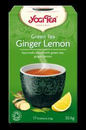 Green ginger lemon te, 17 poser, Yogi