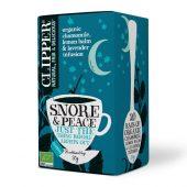 Clipper Organic Snore & Peace 20 teposer