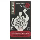 Clipper English Breakfast Tea 25 bags