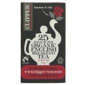 Clipper English Breakfast Tea 25 bags