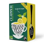 Clipper Green & Lemon Tea 20 bags