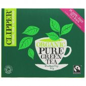 Clipper Organic Pure Green 80 Bags - 80 bags