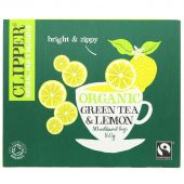 Clipper Organic Green & Lemon 80 Bags - 80 bags