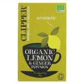 Clipper Lemon & Ginger - organic - 20 bags