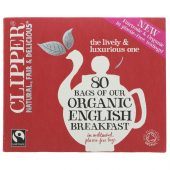 Clipper English Breakfast Organic - 80 bags