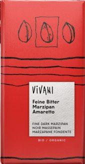 Vivani Sjokolade Marsipan Amaretto, 100g
