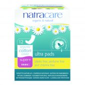 Natracare bind ultra Super Plus 12 u/vinger