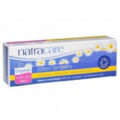 Natracare tamponger u/hylse super plus 20