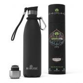 Greens Steel Bottle 750 ml Black