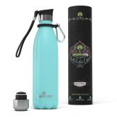 Greens Steel Bottle 750 ml Pastel Blue