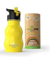 Greens Steel Kids Yellow 350 ml