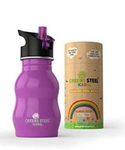 Greens Steel Kids Purple 350 ml