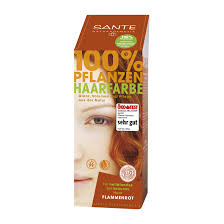 Sante color flame red hair 100 gr