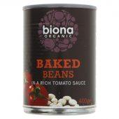 Biona bønner i tomatsaus 400g øko