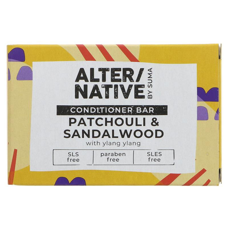 Alter/native By Suma Hair Conditioner Bar-Patchouli - 90g