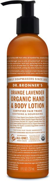 Dr. Bronners Orange-Lavender Body Lotion