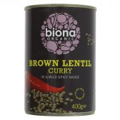 Biona linsecurry 400g øko