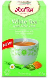 Yogi White Tea with Aloe Vera