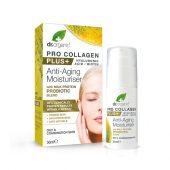 Dr. Organic pro collagen anti-aging moisturiser. probiotic