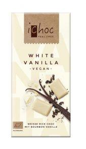 Ichoc Hvit Sjokolade m/ vanilje vegansk