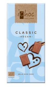 Ichoc Lys sjokolade Classic. vegan. [øko] 80 g