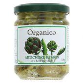 Organico Artisjokkhjerter 190g