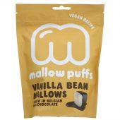 Mallow Puffs Vanilla Dark Choc Mallows 100g