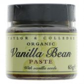 Taylor & Colledge Organic Vanilla Bean Paste - 65g